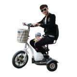 ثلاثة عجلات كهربائيّة درّاجة ثلاثية وحركيّة [سكوتر] مع [فكتوري بريس]