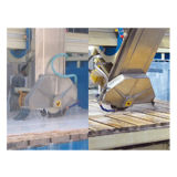 CNC Puente de la sierra para el procesamiento de granito losas de mármol a tamaño
