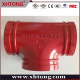 Xinhuitong Company Tee di riduzione tubo scanalato antincendio