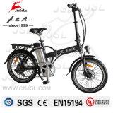 """Bici elettrica pieghevole del nero/bianca 20 """" Al della lega 36V (JSL039X-4)"""