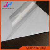 Claro brillante del vinilo del PVC con la tinta del pigmento de impresión