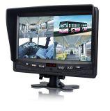 7-дюймовый 4CH системы безопасности автомобиля с дополнительным водонепроницаемый задней Riew CCD камера