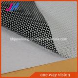 Etiqueta de sentido único da visão para o material da impressão