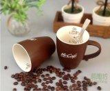 Tazas de cerámica blancas al por mayor de la insignia de la impresión de la etiqueta de las tazas de té