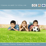 grama Synthetique do futebol do futebol do PE de 50mm