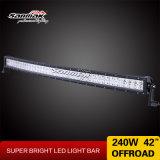 42inch 240W Gebogen CREE Lichte Offroad Staaf 4X4