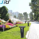 2016 SRS Cylindre Solar Garden Lawn Light Nouveau design en acier inoxydable Solar Garden Lawn Light