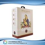 Contenitore di imballaggio impaccante del vino del caffè del regalo del documento ondulato (xc-hba-002)