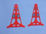 Cone de tráfego de pirâmide europeu patenteado