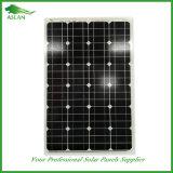 高性能の太陽電池パネルモノラル60W