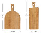 Доска изготовленный на заказ Unpainted разделочной доски дуба деревянной прерывая