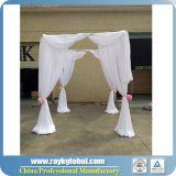 A tubulação quadrada da barraca e drapeja para a venda com preço do competidor