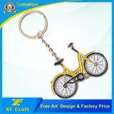 기념품 또는 승진 선물 (XF-KC19)를 위한 싼 주문을 받아서 만들어진 금속 자전거 디자인 Keychain