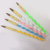 예술 수정같은 아크릴 색칠 펜을 네일링하십시오