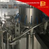Máquina de enchimento bebendo quente inteiramente automática simples da água de frasco do animal de estimação da venda da operação