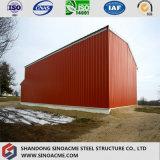 産業電流を通された品質の鉄骨フレームの倉庫の農場の小屋