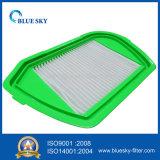 Groene Vierkante Filter HEPA voor de Stofzuiger van het Huishouden en van het Bureau