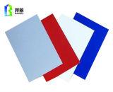 Materiale da costruzione di Acm di colore metallico d'argento di rivestimento di alluminio