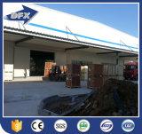 Het geprefabriceerde Industriële Ontwerp van het Pakhuis van de Workshop van de Auto van de Structuur van het Staal