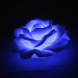 Indicatore luminoso senza fiamma impermeabile romantico decorativo falso del fiore del LED per il partito