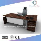 De alta calidad elegante diseño L forma de mesa de oficina