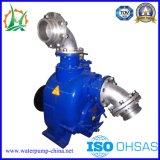 6 polegadas P Tipo de drenagem de águas residuais de fábrica Single-Opened-Impulsor da Bomba diesel