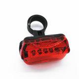 5 LED-Fahrrad-Fahrrad-Vorderseite-Kopf-Licht-Sicherheits-Rückseiten-Taschenlampen-Energien-Träger-Fackel-Fahrrad-Zusatzgerät