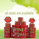 中国からの有機性800gによって缶詰にされるトマトのり