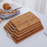 Tarjeta de corte de bambú de la categoría alimenticia de la capa del petróleo