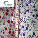 Tessuto della flanella poliestere/del cotone per il panno del bambino