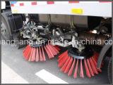 Veicolo della spazzatrice di strada, veicolo di pulizia della via con la tramoggia dei rifiuti dell'acciaio inossidabile