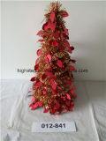 Árvore pequena decorada com Natal