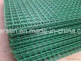 Зеленый с покрытием из ПВХ сварной проволоки Сетчатые вставки