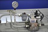 máquina de dobra hidráulica de 4000mm exportada para Europa