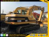 A máquina escavadora usada 320b, máquina escavadora usada da lagarta 320b, 320b usou a máquina escavadora da esteira rolante do gato