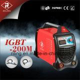 De Machine van het Lassen MMA IGBT met Plastic Geval (igbt-160M/180M/200M)