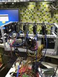 9 Bitcoin 광부 어미판, Pcie 1X - 16X 접합기를 위한 Gen. Btc 라이저 카드, 16 변환 카드에 PCI-E PCI 급행 Pcie 1X