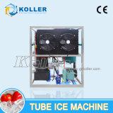 Ghiaccio commestibile del tubo da 1 tonnellata/giorno dalla macchina di ghiaccio del tubo con il sistema di controllo del PLC (TV10)
