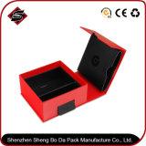 коробка подарка картона 136*136*66mm портативная подгонянная