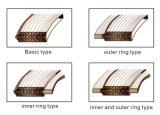 Ss316 Pakking van de Wond van het Roestvrij staal de Spiraalvormige met PTFE