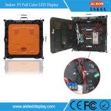 Tela de indicador Rental de fundição energy-saving cheia interna do diodo emissor de luz da cor P5