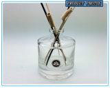 200ml vident autour de la bouteille en verre de diffuseur de roseau de cylindre