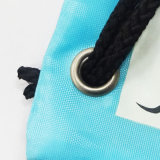 bolso de nylon del morral del acoplamiento del lazo del poliester 210d