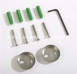 Einfaches Art-Edelstahl-Badezimmer-zusätzliches Glasregal (Ymt-2305)
