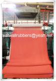 Estera de goma del suelo de la hoja del rodillo de goma de la buena calidad de la fábrica