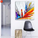 2017 New Street Wall Picture Résumé Peinture à l'huile moderne