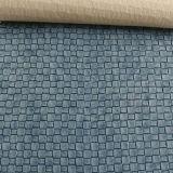 Cuoio tessuto del PVC del reticolo per le borse (FS702)