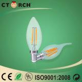 A cauda da tração do diodo emissor de luz do filamento ilumina 4W