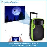 Projektions-Lautsprecher Plastik-PA-Systems-beweglicher Digital-LED mit Batterie