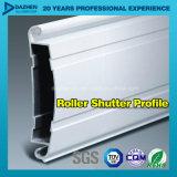 Perfil de alumínio da extrusão do indicador da porta do obturador de 6063 rolos